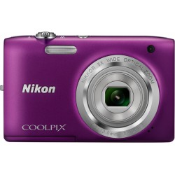 Фотоаппарат Nikon Coolpix S2800 Purple (VNA574E1)