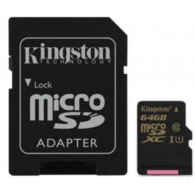 Карта памяти Kingston microSD 16 GB Class 4