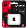 Карта памяти Kingston microSDHC 128GB Class 10 UHS-I U3 R90/W80MB/s