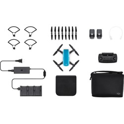 Квадрокоптер DJI Spark (Sky Blue) (Fly More Combo)