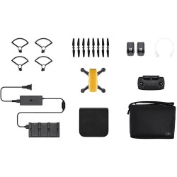 Квадрокоптер DJI Spark (Sunrise Yellow) (Fly More Combo)