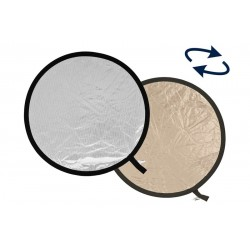 Отражатель Lastolite Collapsible Sunlite/Soft Silver 95см (3828)