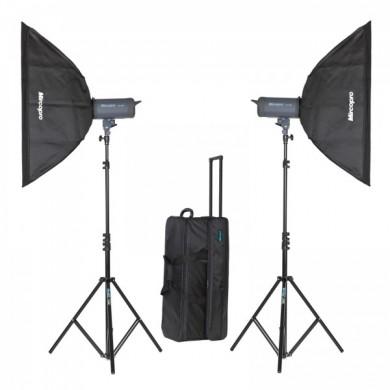 Набор студийного света Mircopro MQ-150 (MQ-150KITSB)