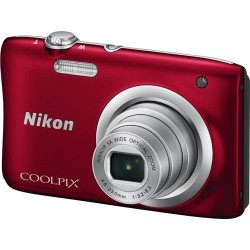 Фотоаппарат Nikon Coolpix A100 Red (VNA972E1)