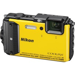 Фотоаппарат Nikon Coolpix AW130 Yellow (VNA844E1)