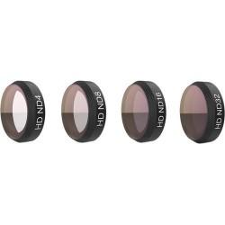 Набор ND светофильтров для квадрокоптера DJI Mavic Air, PGYTECH HD ND4 / ND8 / ND16 / ND32