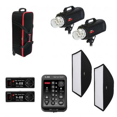 Комплект студийного света Rime Lite F.4 Plus Dual (Canon)
