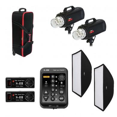 Комплект студийного света Rime Lite F.4 Plus Dual (Nikon)