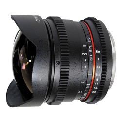 Samyang 8mm T3.8 Aspherical IF MC Fish-eye CS (VDSLR-Cine) (Canon)