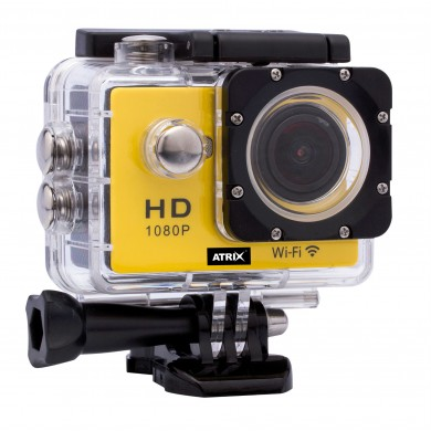 Экшн-камера ATRIX ProAction W9 Full HD (yellow)