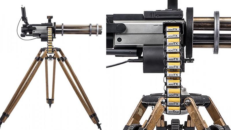 Оружие сделанное из фотокамер