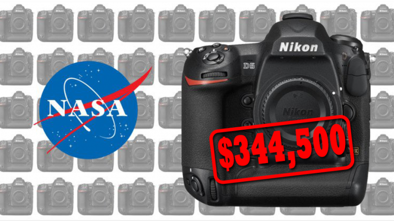 NASA заказывает 53 камеры Nikon D5