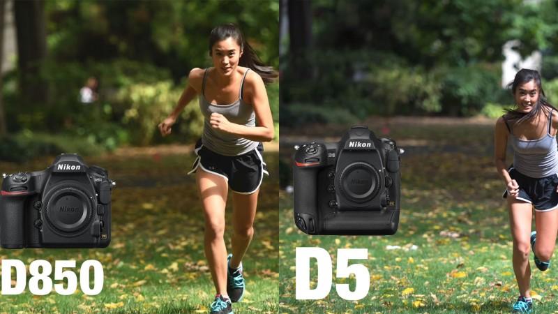 Отслеживание автофокусировки Nikon D850 не так хорошо, как D5