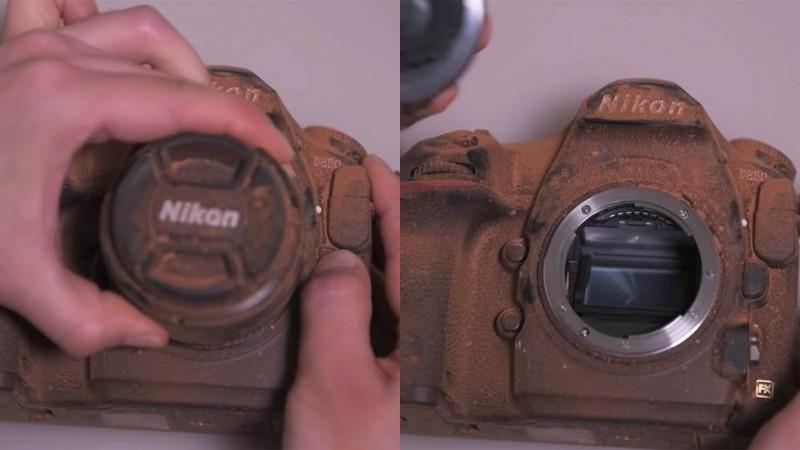 Как Nikon проверяет отказоустойчивость D850 (Видео)