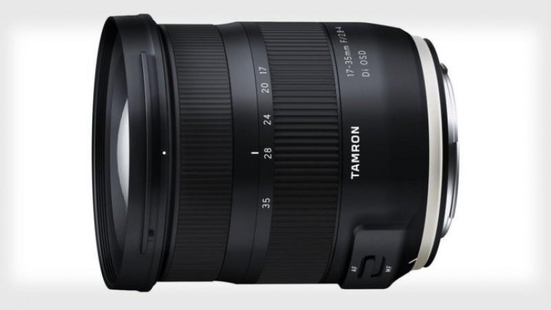 Новый Tamron 17-35mm f / 2.8-4 Di OSD для Canon и Nikon