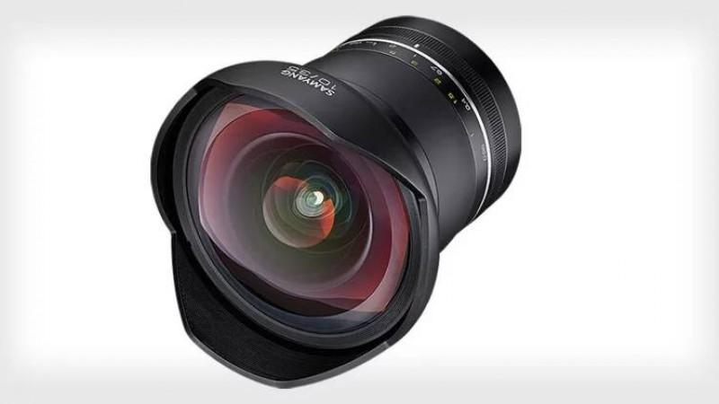 Samyang XP 10mm f/3.5 - самый широкоугольный в мире объектив без дисторсии
