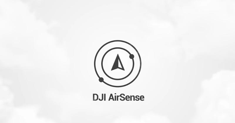 DJI AirSense - функция обнаружения самолетов