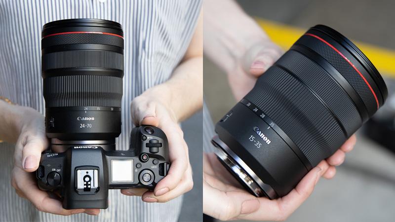 Два новых объектива для Canon RF: RF 15-35mm f/2.8L IS и RF 24-70mm f/2.8L IS