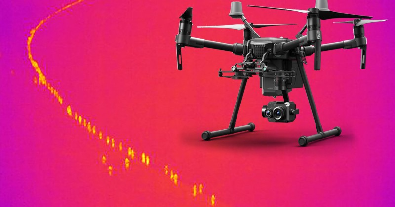 Квадрокоптер с тепловизором помог найти пропавшего шестилетнего мальчика
