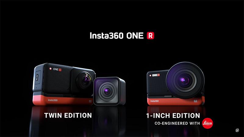Insta360 One R – Модульна екшн камера розроблена спільно з Leica