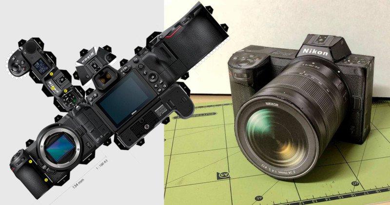 Хотите новый Nikon Z7? Все что вам для этого понадобится лист бумаги А3 и цветной принтер : )