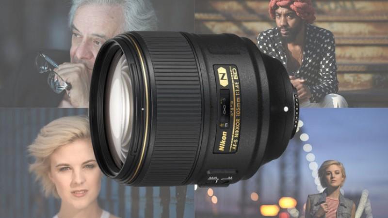 Первые официальные снимки сделаны новым Nikon 105mm f/1.4