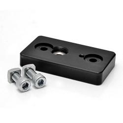 """Slide Kamera AF-8 3/8"""" and 1/4"""" lower port (mounting plate)"""