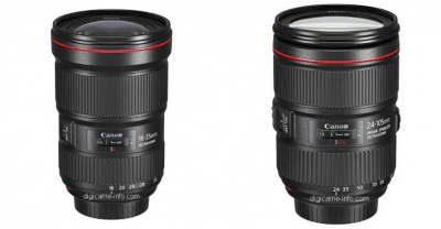 Фотографии Canon 16-35mm F/2.8L и 24-105mm F/4L