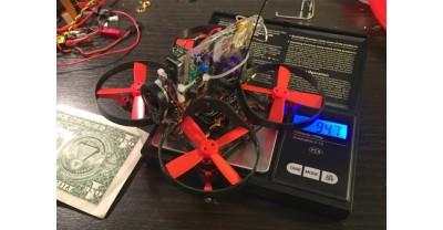 Вот что можно снять с помощью камеры GoPro и самого компактного квадрокоптера в мире