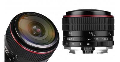 Meike выпустит 6.5mm F / 2 Fisheye для APS-C  беззеркальных камер