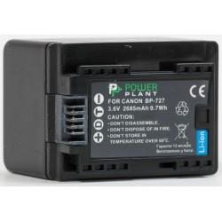Аккумулятор PowerPlant Canon BP-727 chip