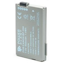 Аккумулятор PowerPlant Canon BP-208