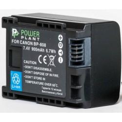 Аккумулятор PowerPlant Canon BP-808 Chip