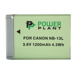 Аккумулятор PowerPlant Canon NB-13L