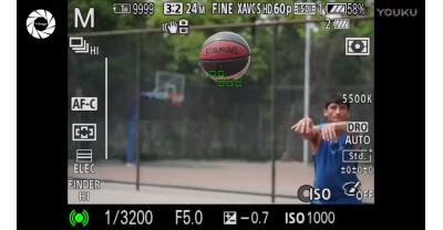 Видео демонстрация работы автофокуса Sony A9