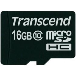 Карта памяти Transcend microSDHC 16 GB Class 10