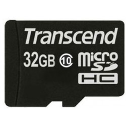 Карта памяти Transcend microSDHC 32 GB Class 10