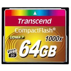 Карта памяти Transcend CompactFlash 64 GB 1000X (TS64GCF1000)