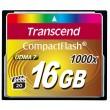 Карта памяти Transcend CompactFlash 16 GB 1000X (TS16GCF1000)