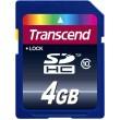 Карта памяти Transcend SDHC 4 GB Class 10