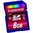 Карта памяти Transcend SDHC 8 GB Class 10 UHS-I Ultimate (X600)