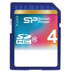 Карта памяти Silicon Power SDHC 4 GB Class 10