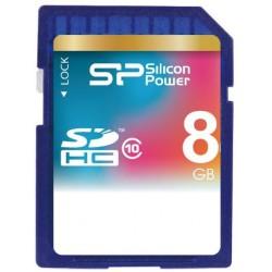 Карта памяти Silicon Power SDHC 8 GB Class 10