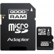 Карта памяти GOODRAM MicroSDHC 32GB Class 4 + SD-adapter