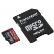 Карта памяти Transcend microSDXC 128GB Class 10 UHS-I PremiumX300 + ad