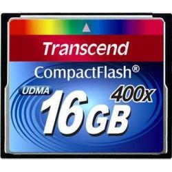 Карта памяти Transcend Compact Flash 16 GB (400X)