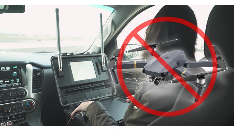 Демо-версия DJI AeroScope демонстрирует технологию отслеживания дронов в действии