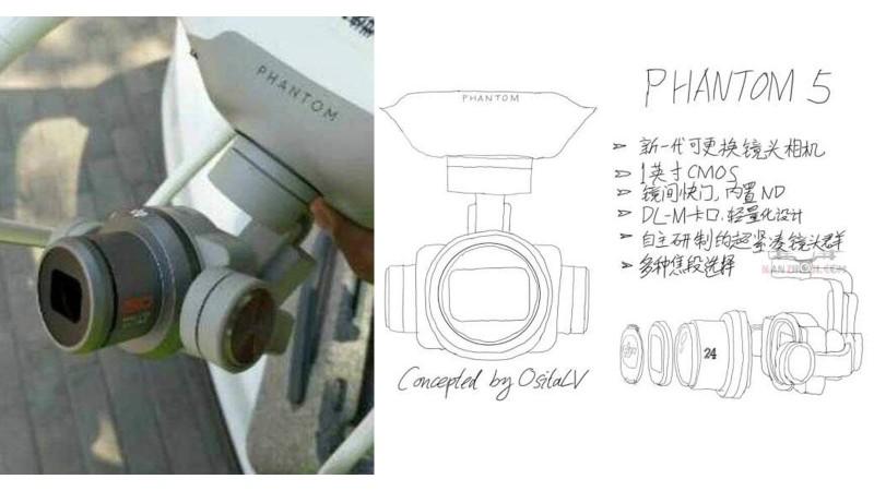 Первые фотографии DJI Phantom 5?