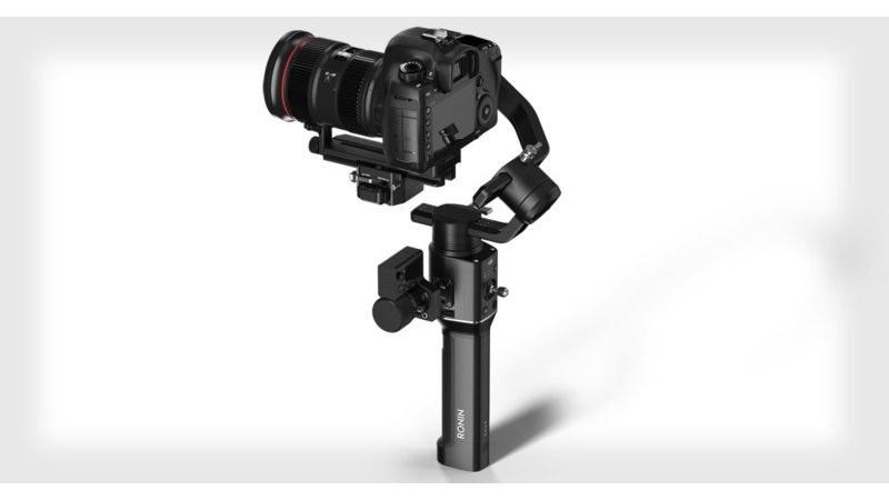 Новый DJ-Ronin-S - это первый в своем роде стабилизатор от DJI для зеркальных и беззеркальных камер