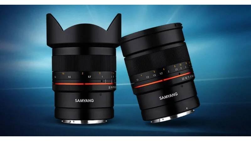 Первые объективы Samyang для Canon RF: MF 14 мм f/2,8 и 85 мм f/1,4